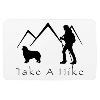 Take a Hike Magnet- Aussie