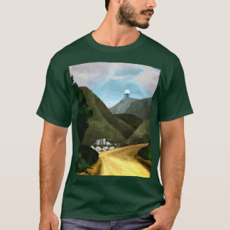 Take a hike. Men's Basic Dark T-Shirt