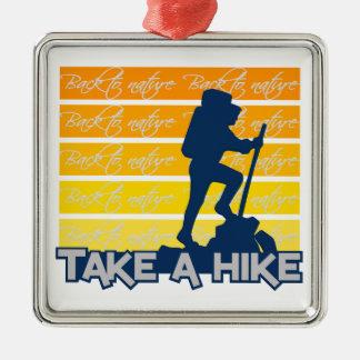 Take a Hike ornament