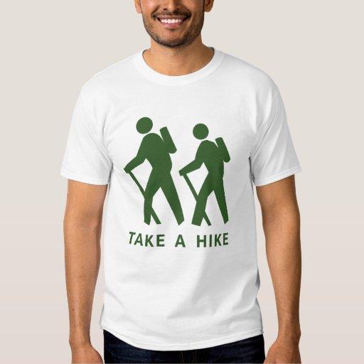 Take a Hike Ringer Tshirts