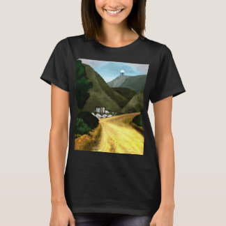 Take a hike. Women's Basic Dark T-Shirt