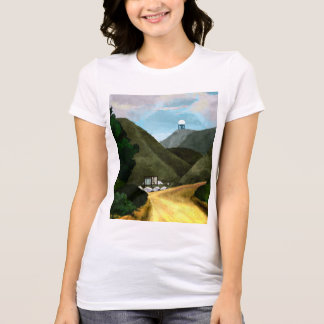 Take a hike. Women's Bella + Canvas Favorite Dark T-Shirt