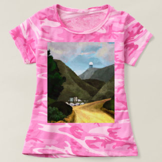 Take a hike. Women's Camouflage T-Shirt