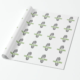 Take A Hike Wrapping Paper