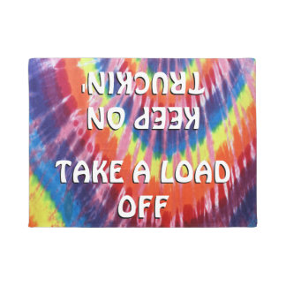 Take a Load off, Keep on Truckin' Doormat