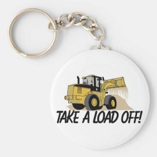 Take A Load Off Key Ring