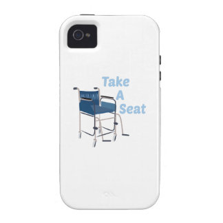 Take A Seat Vibe iPhone 4 Covers