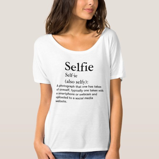 Take a Selfie in This Shirt! T-Shirt