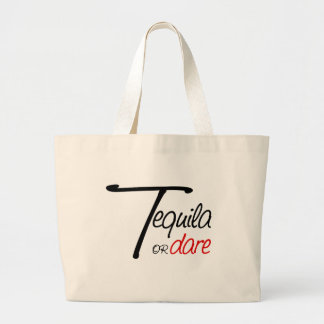 Take a shot of tequila or humiliate yourself canvas bag