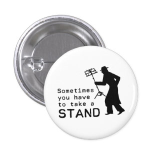 Take a Stand 3 Cm Round Badge