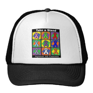 Take a Stand Against All Cancers Trucker Hats