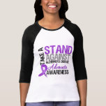 Take a Stand Against Alzheimers Disease T Shirt