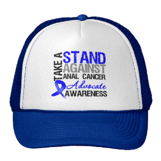Take a Stand Against Anal Cancer Cap