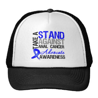 Take a Stand Against Anal Cancer Trucker Hats