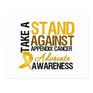 Take a Stand Against Appendix Cancer Postcard