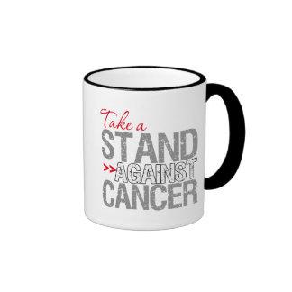 Take a Stand Against Cancer - Bone Cancer Ringer Mug