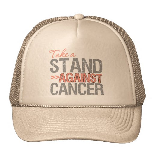 Take a Stand Against Cancer - Endometrial Cancer Trucker Hat