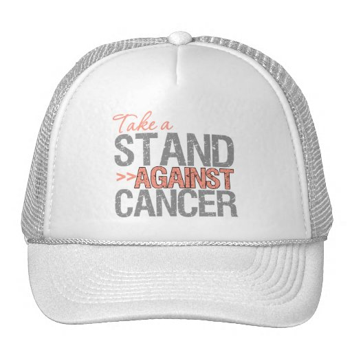 Take a Stand Against Cancer - Endometrial Cancer Mesh Hat