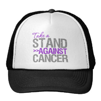 Take a Stand Against Cancer - Pancreatic Cancer Trucker Hats