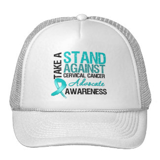 Take a Stand Against Cervical Cancer Trucker Hat