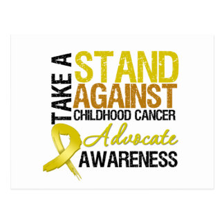 Take a Stand Against Childhood Cancer Postcard