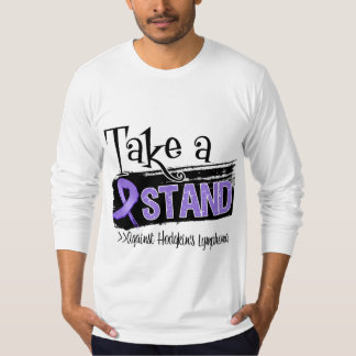 Take a Stand Against Hodgkins Lymphoma T-Shirt