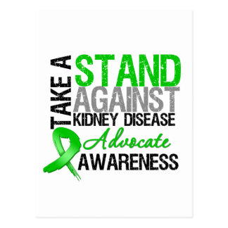 Take a Stand Against Kidney Disease Postcard