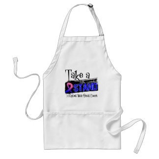 Take a Stand Against Male Breast Cancer Aprons