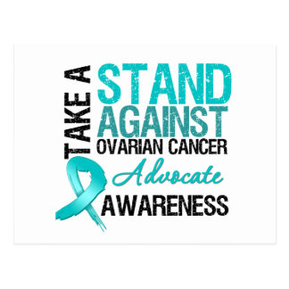 Take a Stand Against Ovarian Cancer Postcard