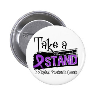 Take a Stand Against Pancreatic Cancer 6 Cm Round Badge