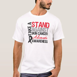 Take a Stand Against Skin Cancer T-Shirt