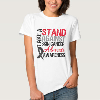 Take a Stand Against Skin Cancer Tees