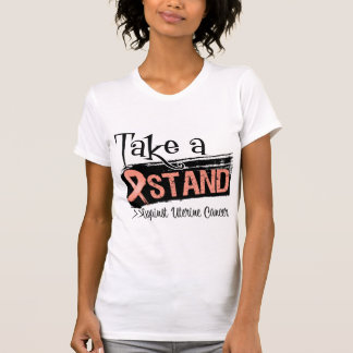 Take a Stand Against Uterine Cancer T Shirts