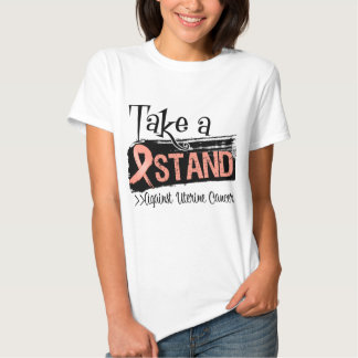Take a Stand Against Uterine Cancer Tshirts