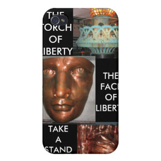 TAKE A STAND FOR LIBERTY WITH LADY LIBERTY iPhone 4 COVERS