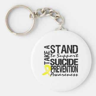 Take A Stand To Support Suicide Prevention Keychains