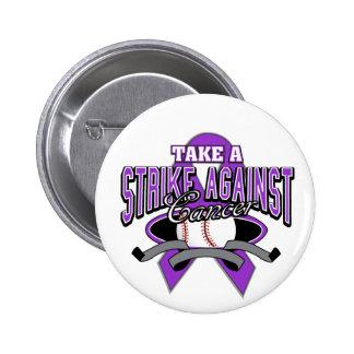 Take a Strike Against Pancreatic Cancer 6 Cm Round Badge