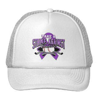 Take a Strike Against Pancreatic Cancer Cap