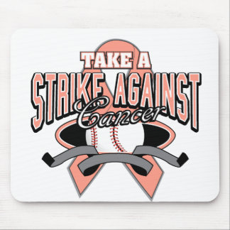 Take a Strike Against Uterine Cancer Mouse Pads