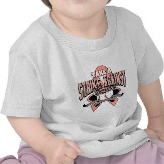 Take a Strike Against Uterine Cancer Tshirts