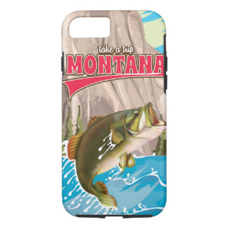 Take a trip - Vintage montana travel poster iPhone 7 Case