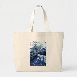 Take a walk jumbo tote bag