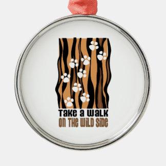 Take A Walk On The Wild Ornament