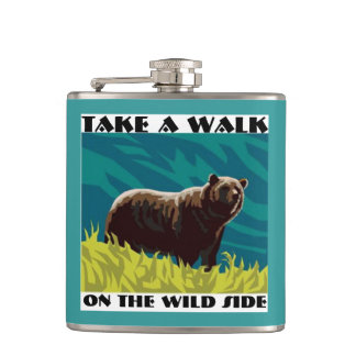 TAKE A WALK ON THE WILD SIDE FLASK