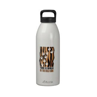 Take A Walk On The Wild Reusable Water Bottle