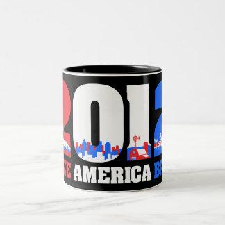 Take America Back 2012 Mug