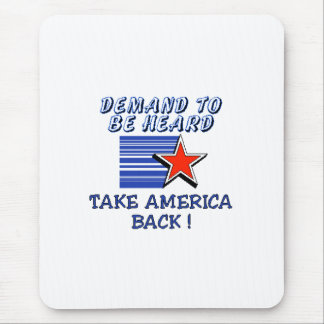 Take America Back Mouse Pad
