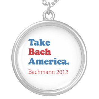 Take Bach America with Bach Round Pendant Necklace