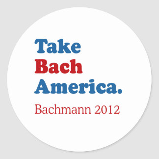 Take Bach America with Bach Stickers