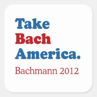 Take Bach America with Bach Sticker